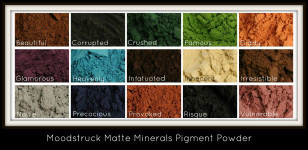 new younique product mineral matte eye pigments