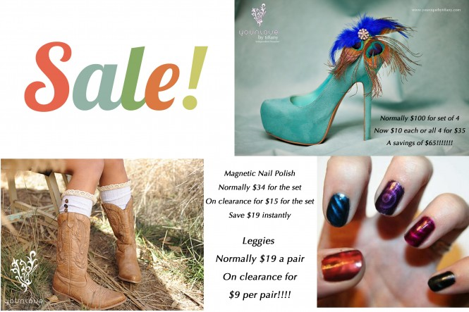 Younique Clearance Sale Shoe Jewelry Magnetic Nail Polish and Leggies