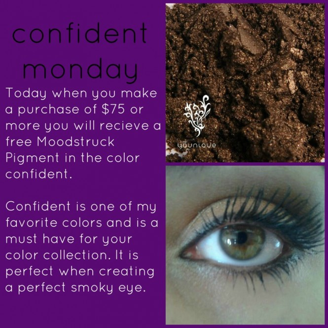 Younique Confident Mineral Eye Pigment Promo Of The Day