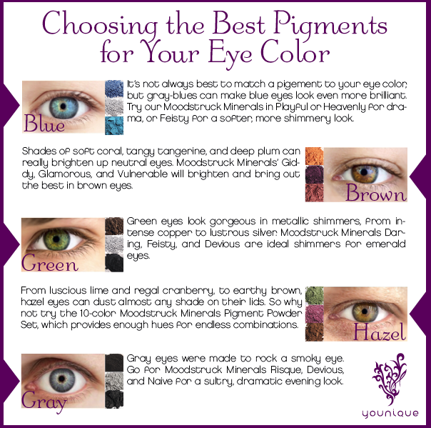 Mineral Eye Pigments for Eye Colors by Younique by Tiffany