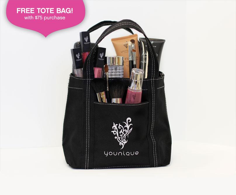 Free Younique Canvas Tote Bag by Younique by Tiffany izatt